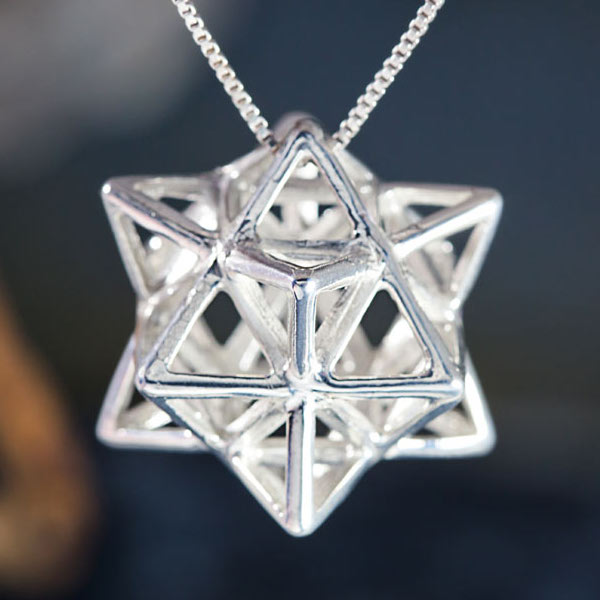 Alchemy Pendant Silver - A Powerful Energy Purifier