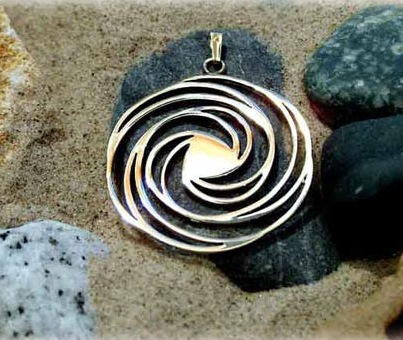 Golden spiral gold - A Golden Symbol of Harmony and Tranquility
