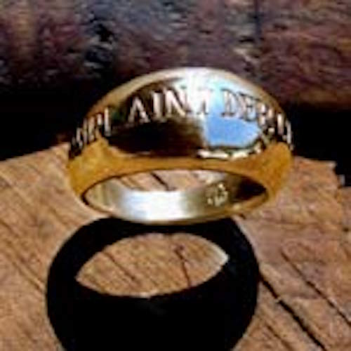 14k Gold Responsibility-Ring